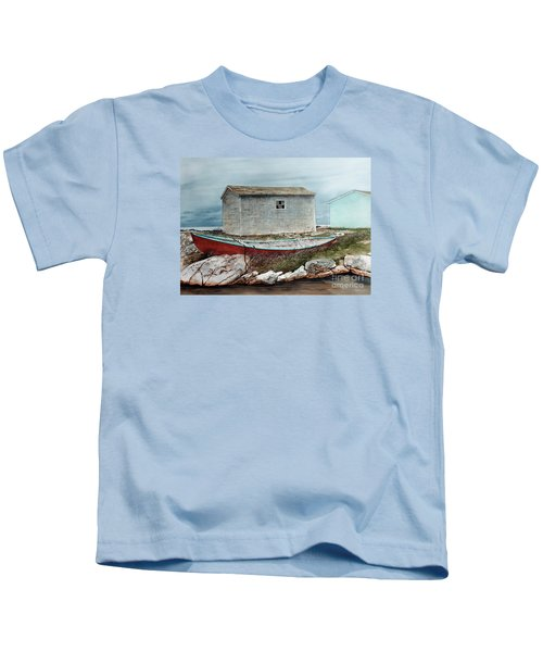 Safe From The Storm Kids T-Shirt