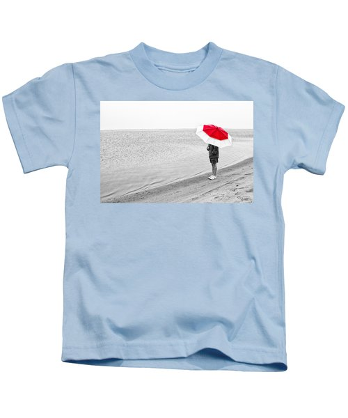 Safe Under The Umbrella Kids T-Shirt