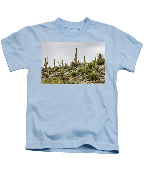 Saguaro Cactus  Kids T-Shirt