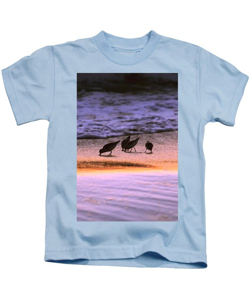 Sandpiper Morning Kids T-Shirt