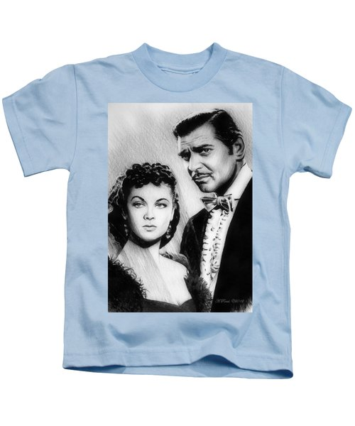 Scarlett And Rhett Kids T-Shirt