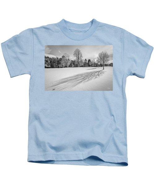 Shades Of Winter Kids T-Shirt