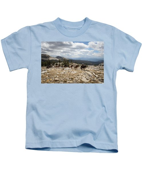 Sierra Trail Kids T-Shirt