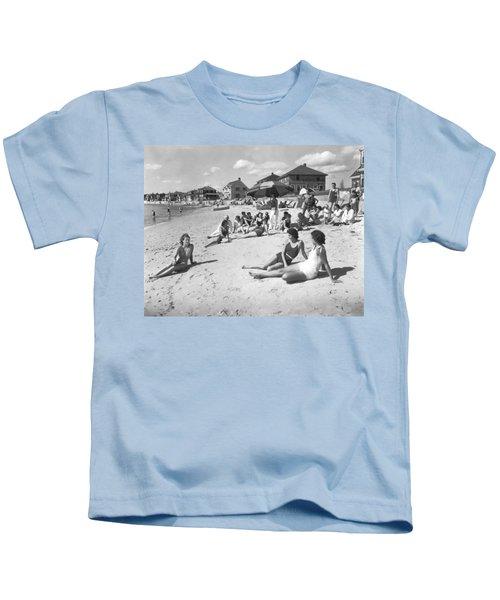 Silver Beach On Cape Cod Kids T-Shirt