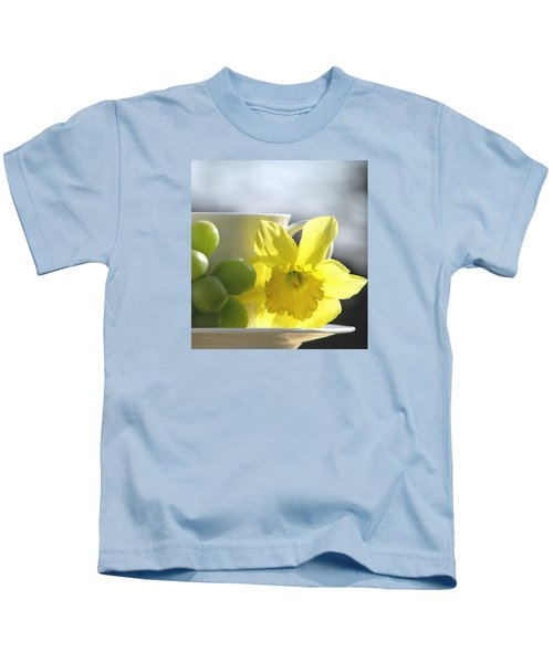 Sipping Spring Kids T-Shirt