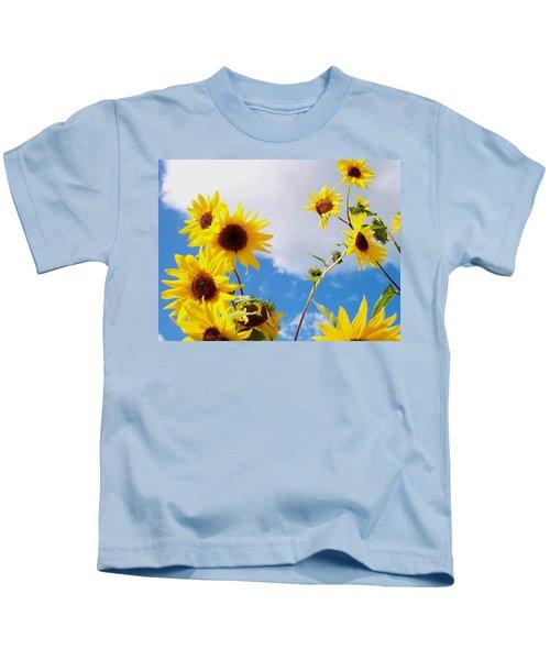 Smile Down On Me Kids T-Shirt