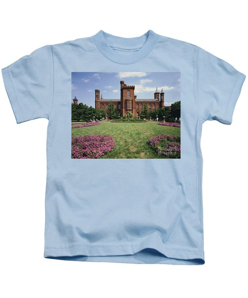 Smithsonian Institution Building Kids T-Shirt