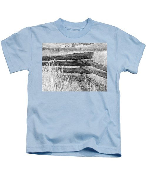 Snake Fence  Kids T-Shirt