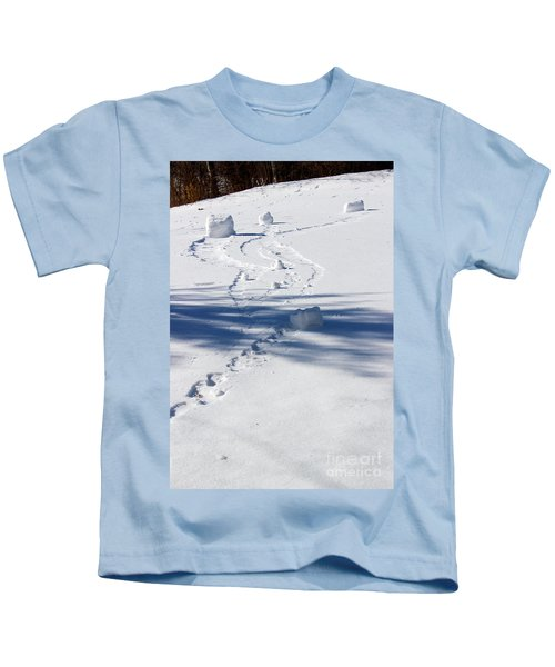 Snow Rollers Kids T-Shirt
