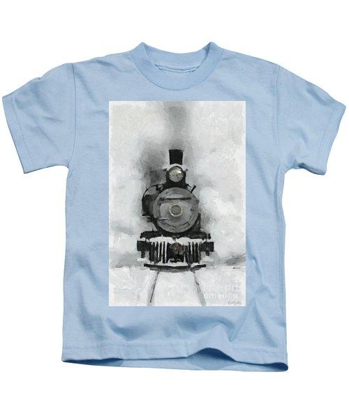 Snow Train Kids T-Shirt
