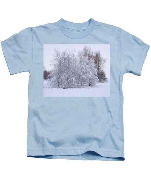 Snow Trees Kids T-Shirt