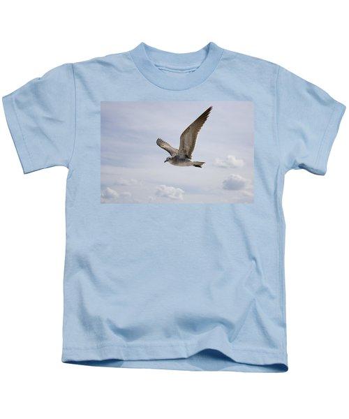 Soaring Gull Kids T-Shirt