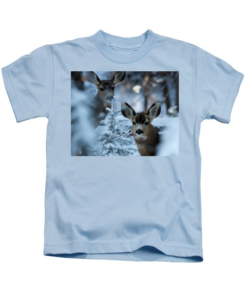 Somebody To Watch Over Me Kids T-Shirt