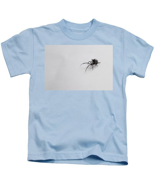 Southern Black Widow Spider Kids T-Shirt