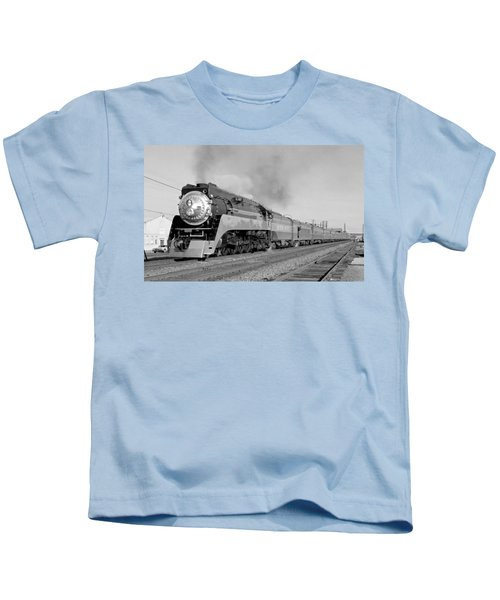 Southern Pacific Train In Texas Kids T-Shirt