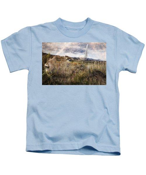 Spirit Of The Past Kids T-Shirt