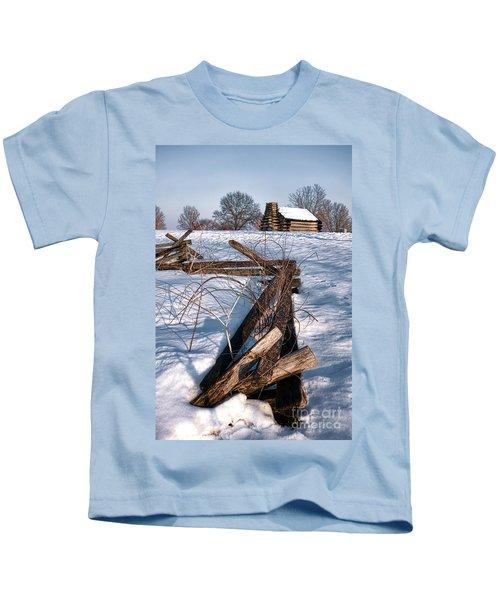 Split Rail And Nation Kids T-Shirt