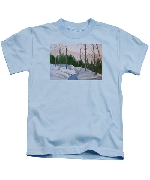 Stay On The Path Kids T-Shirt