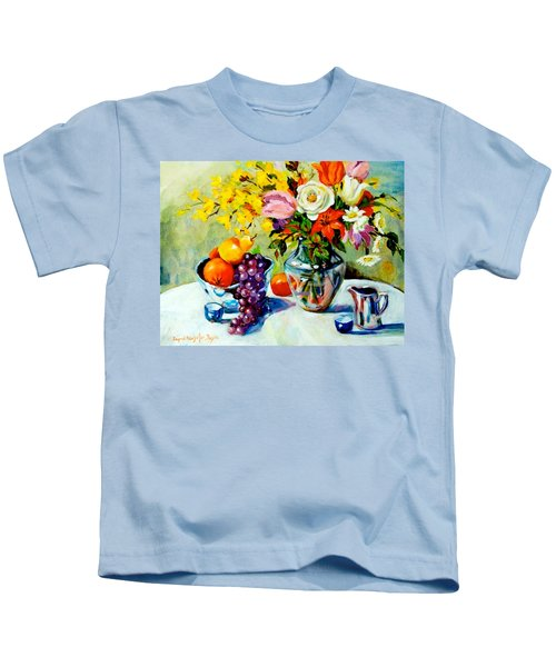 Still Life Creamer Kids T-Shirt