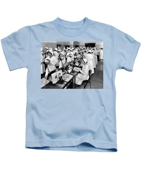 Students At A Dental School Kids T-Shirt