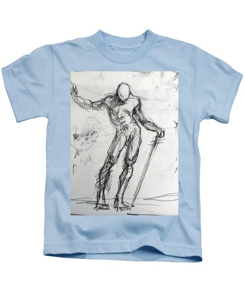 Study For St. Micheal Kids T-Shirt