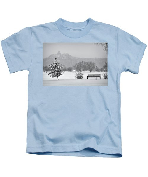 Sugarloaf Snowstorm Kids T-Shirt