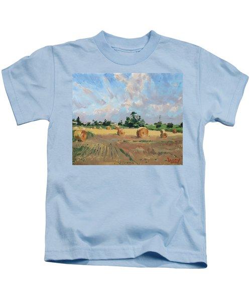 Summer Fields In Georgetown On Kids T-Shirt