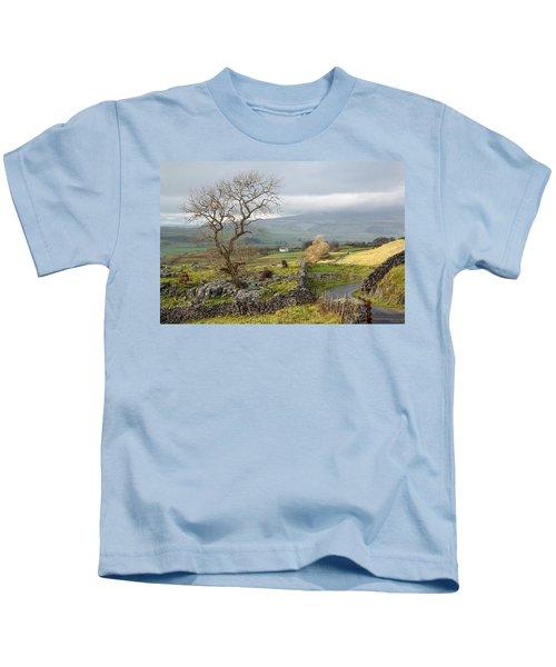 Sun Breaks Through Kids T-Shirt