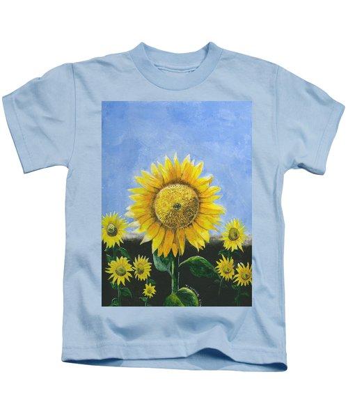 Sunflower Series One Kids T-Shirt