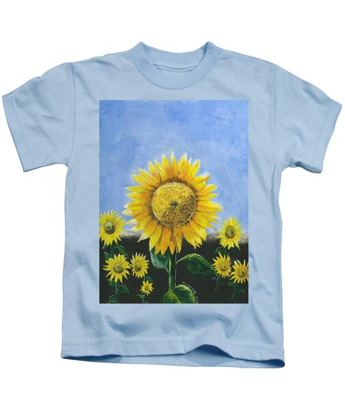 Sunflower Series One Kids T-Shirt