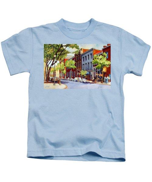 Sunny Day Cafe Kids T-Shirt