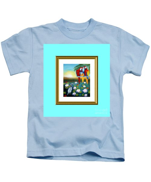 Sunrise In Paradise. Inspiration Collection Kids T-Shirt