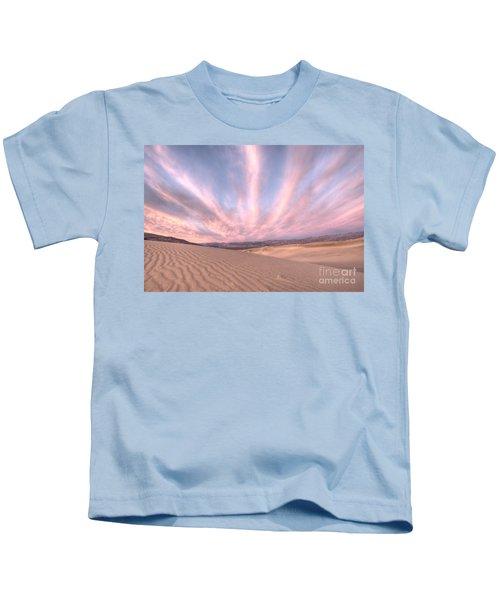 Sunrise Over Sand Dunes Kids T-Shirt