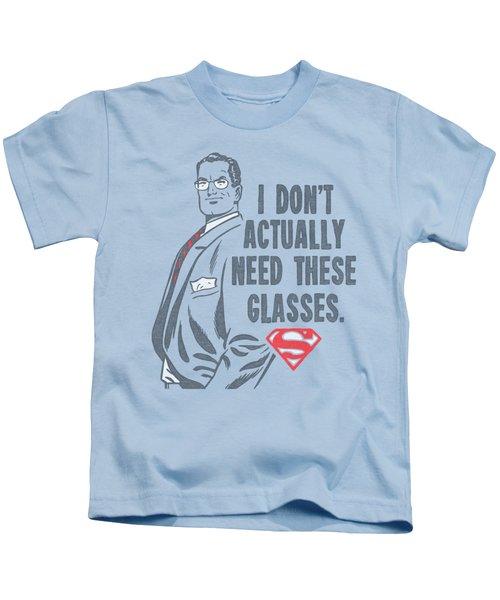 Superman - Don't Need Glasses Kids T-Shirt