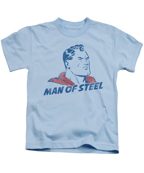 Superman - The Man Kids T-Shirt by Brand A
