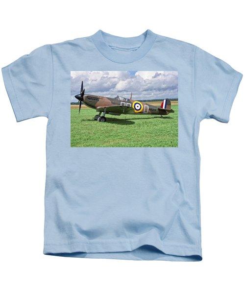 Supermarine Spitifire 1a Kids T-Shirt