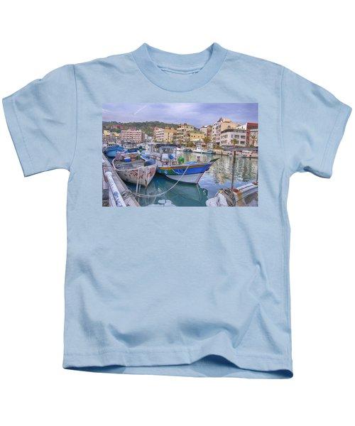 Taiwan Boats Kids T-Shirt