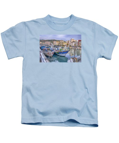 Taiwan Boats Kids T-Shirt