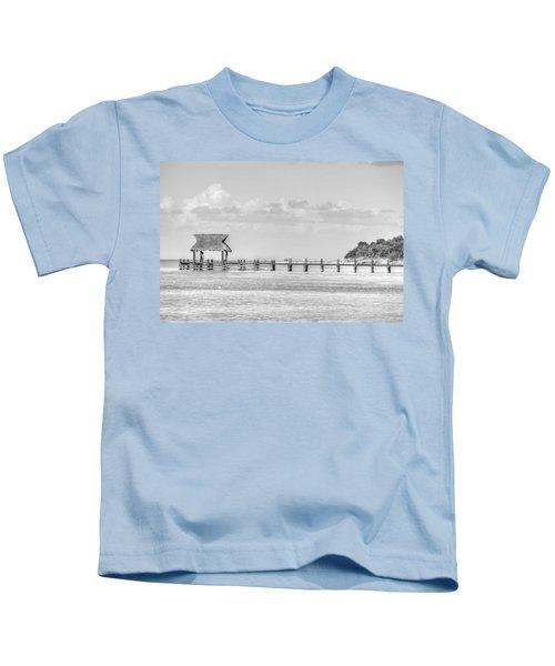 Take A Long Walk Off A Short Pier Kids T-Shirt