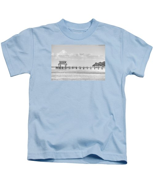 Take A Long Walk Off A Short Pier Kids T-Shirt