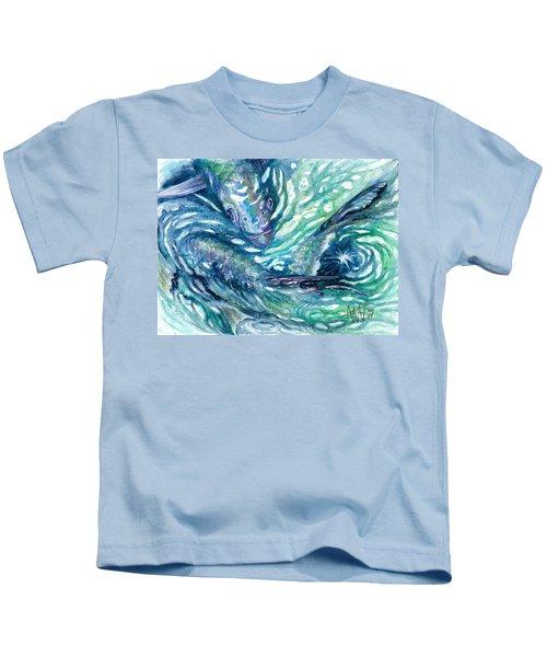 Tarpon Frenzy Kids T-Shirt