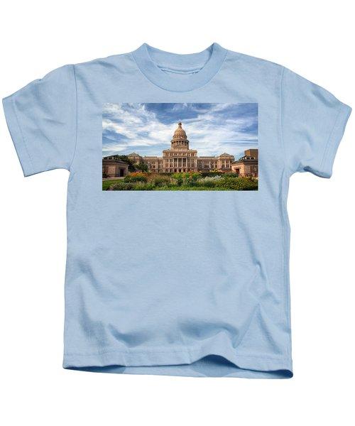 Texas State Capitol II Kids T-Shirt
