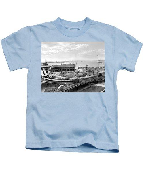 The Battery In Manhattan Kids T-Shirt