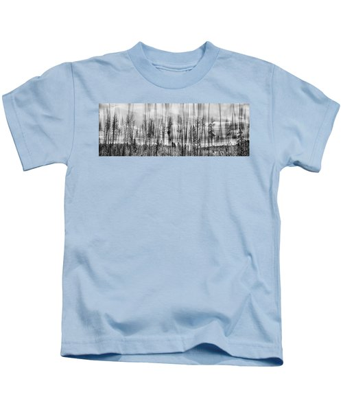 The Edge Of The Clear-cut Kids T-Shirt