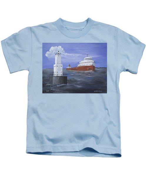 The Fitz Departs Escanaba Kids T-Shirt