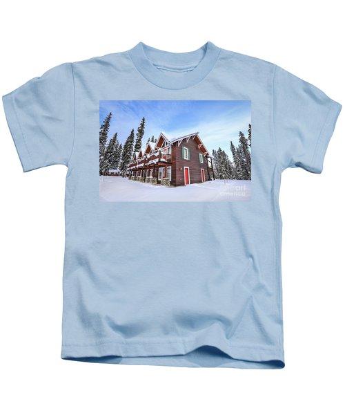 The Glory Of Winter's Chill Kids T-Shirt