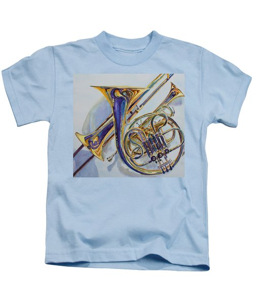 The Glow Of Brass Kids T-Shirt