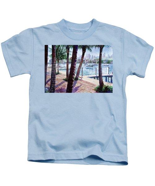 The Harbor Palms Kids T-Shirt