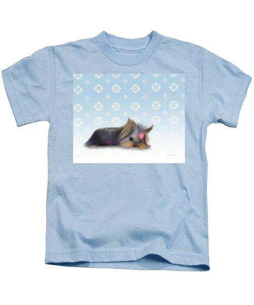 The Little Thinker  Kids T-Shirt