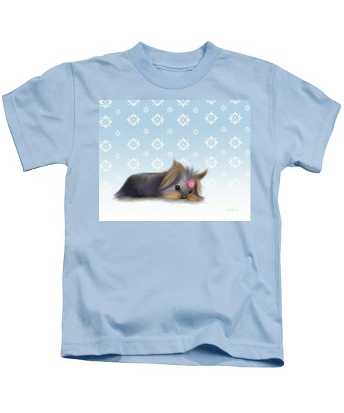 The Little Thinker  Kids T-Shirt